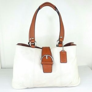 Coach Leather Soho Careyall Bag Excellent